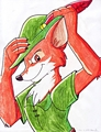 Walt Disney Fan Art - Robin Hood - walt-disney-characters fan art