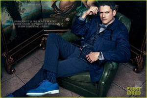 Wentworth Miller Covers 'August Man Malaysia' September 2014