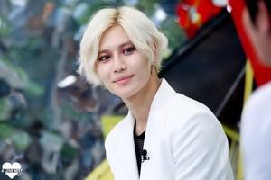 White Hair Taemin at Mnet Begin - Ace Era