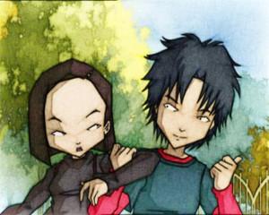 William and Yumi Fanarts