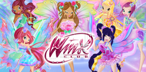 the winx club wallpaper titled Winx: 2D Mythix wallpaper