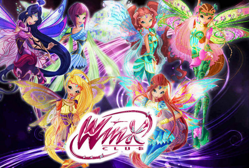 Winx Club fond d'écran called Winx Bloomix Wallpaper.