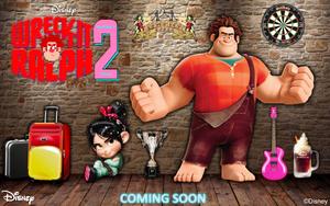 Wreck-It Ralph 2 Coming Soon kertas dinding
