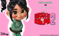 Wreck-It Ralph 2 Vanellope वॉलपेपर