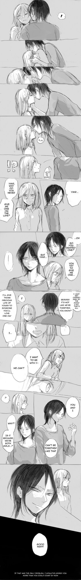 Ymir and Christa comic