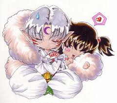 Sesshomaru and Rin wallpaper titled You and Me!