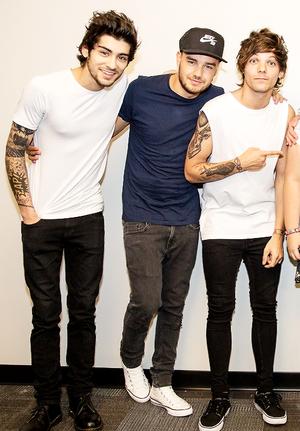 Zayn,Liam,Louis