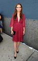 Zoey Deutch - Diane Von Furstenberg fashion show  - the-vampire-academy-blood-sisters photo