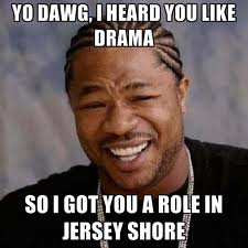 aaaaand something funny about drama :3