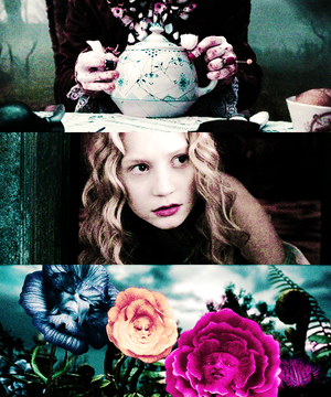 alice in wonderland / picspam