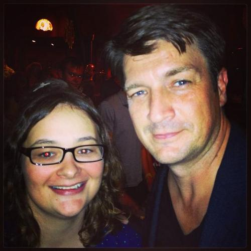 Nathan Fillion fond d'écran possibly with a portrait titled annie13005