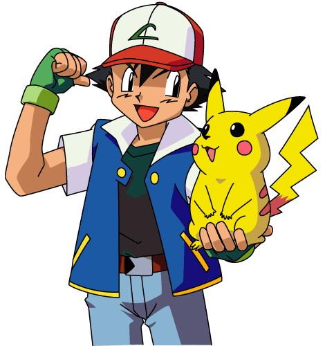 Pokémon wolpeyper titled ash and pikachu
