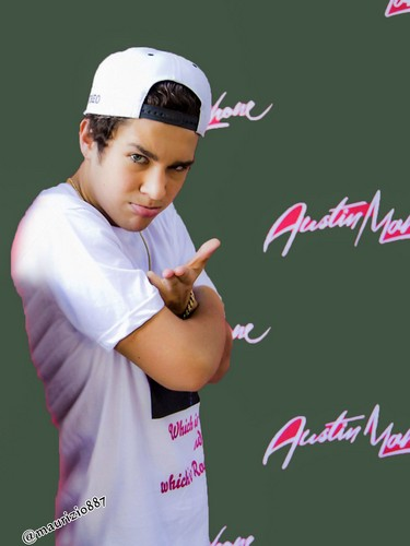Austin Mahone kertas dinding containing a Tenis pro and a Tenis player entitled austin mahone, 2014
