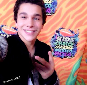 austin mahone, Kids Mexico,2014