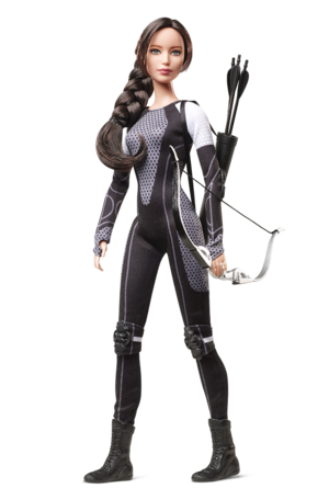 awesome Katniss बार्बी Doll