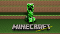 creepers gonna creep! - minecraft wallpaper