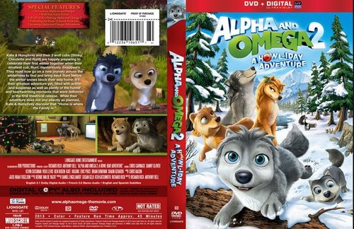 Alpha and Omega 2: a howl-iday adventure karatasi la kupamba ukuta entitled custom cover