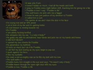 freddy is l'amour freddy is life