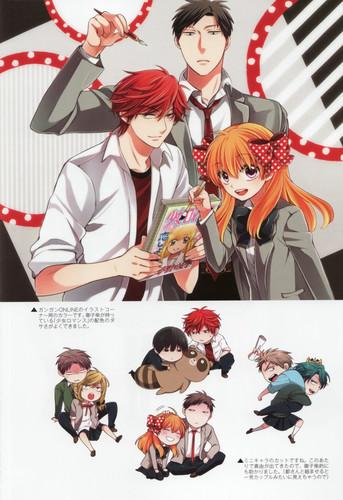 Gekkan Shoujo Nozaki-kun fondo de pantalla with anime titled gekkan shoujo nozaki-kun