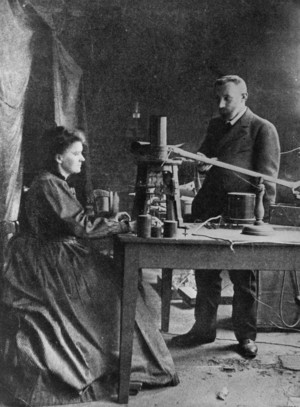 marie curie and pierre curie
