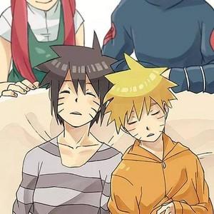 Naruto and menmma
