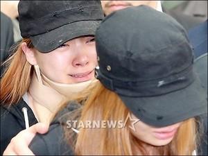 Ladies' Code's EunB's Funeral