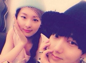 SeulGi and Yesung from super junior