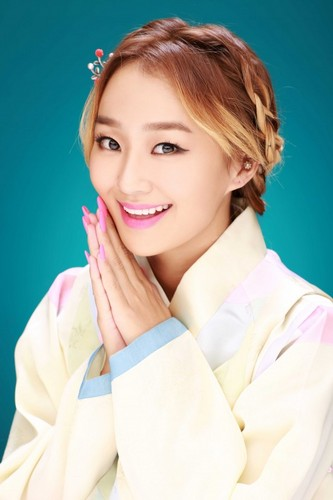 SISTAR (씨스타) wallpaper possibly with a portrait called SISTAR give their early Chuseok greetings in beautiful hanbok