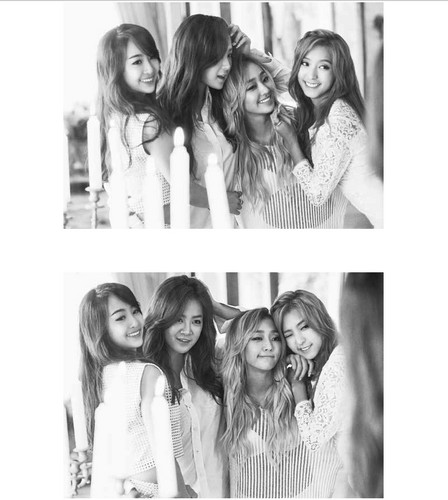 SISTAR (씨스타) wallpaper with a portrait called SISTAR for Kwave Magazine