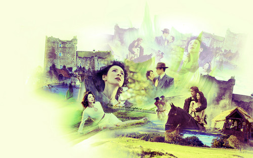 Outlander 2014 TV Series پیپر وال containing عملی حکمت called Sassenach