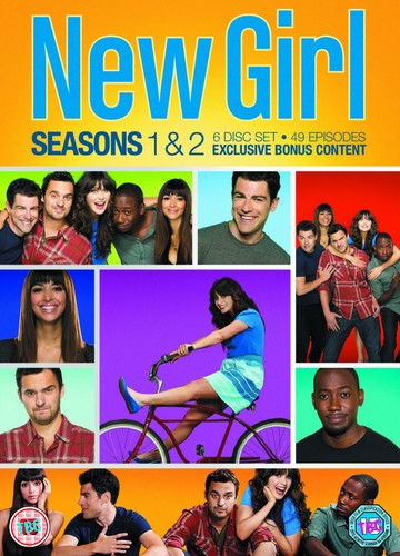 New Girl fond d'écran called season 1-2 dvd