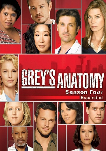 Grey's Anatomy پیپر وال probably with a portrait entitled season 4 dvd