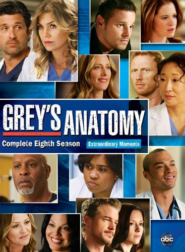 Grey's Anatomy پیپر وال entitled season 8 dvd