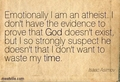 sorry for repeats - atheism photo