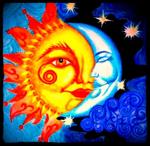 Gypsy Images Sun And Moon Wallpaper Background Photos