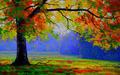 tree of silence - photoshop photo