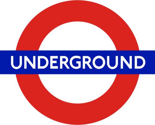 London Underground kertas dinding entitled underground