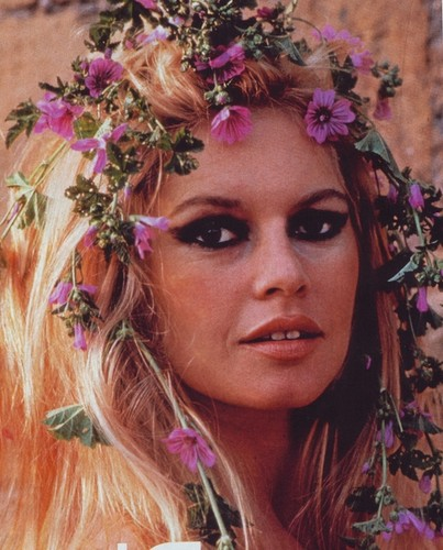 Brigitte Bardot hình nền containing a bouquet entitled Brigitte Bardot