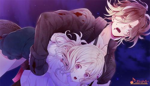 디아볼릭 러버즈 바탕화면 probably with 아니메 called [Dark Fate] Yuma and Yui
