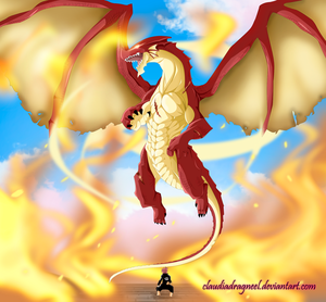 *Igneel Appears From Natsu*