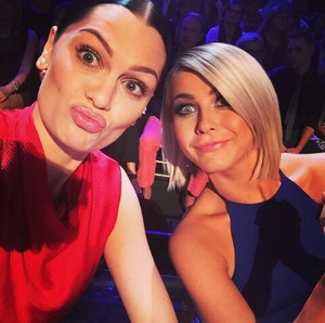 Jessie J and julianne