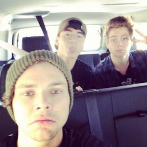 Luke, Ash and Calum
