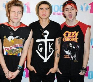 Luke, Calum and Mikey