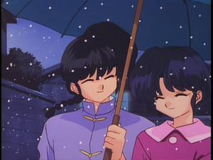 らんま½ (란마 ½) Ranma and Akane walking প্রথমপাতা together (Doco)