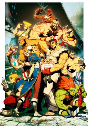 đường phố, street Fighter