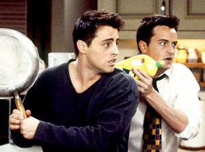 1. Joey and Chandler