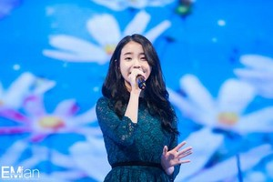 140925 IU at the Woosong Uni 60th Anniversary Sol Concert