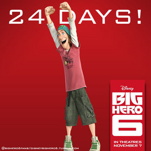 24 Days until the release of Big Hero 6!