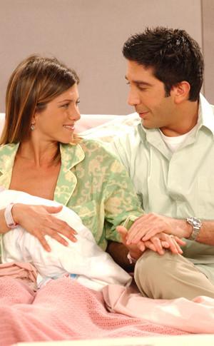 9. Rachel and Ross