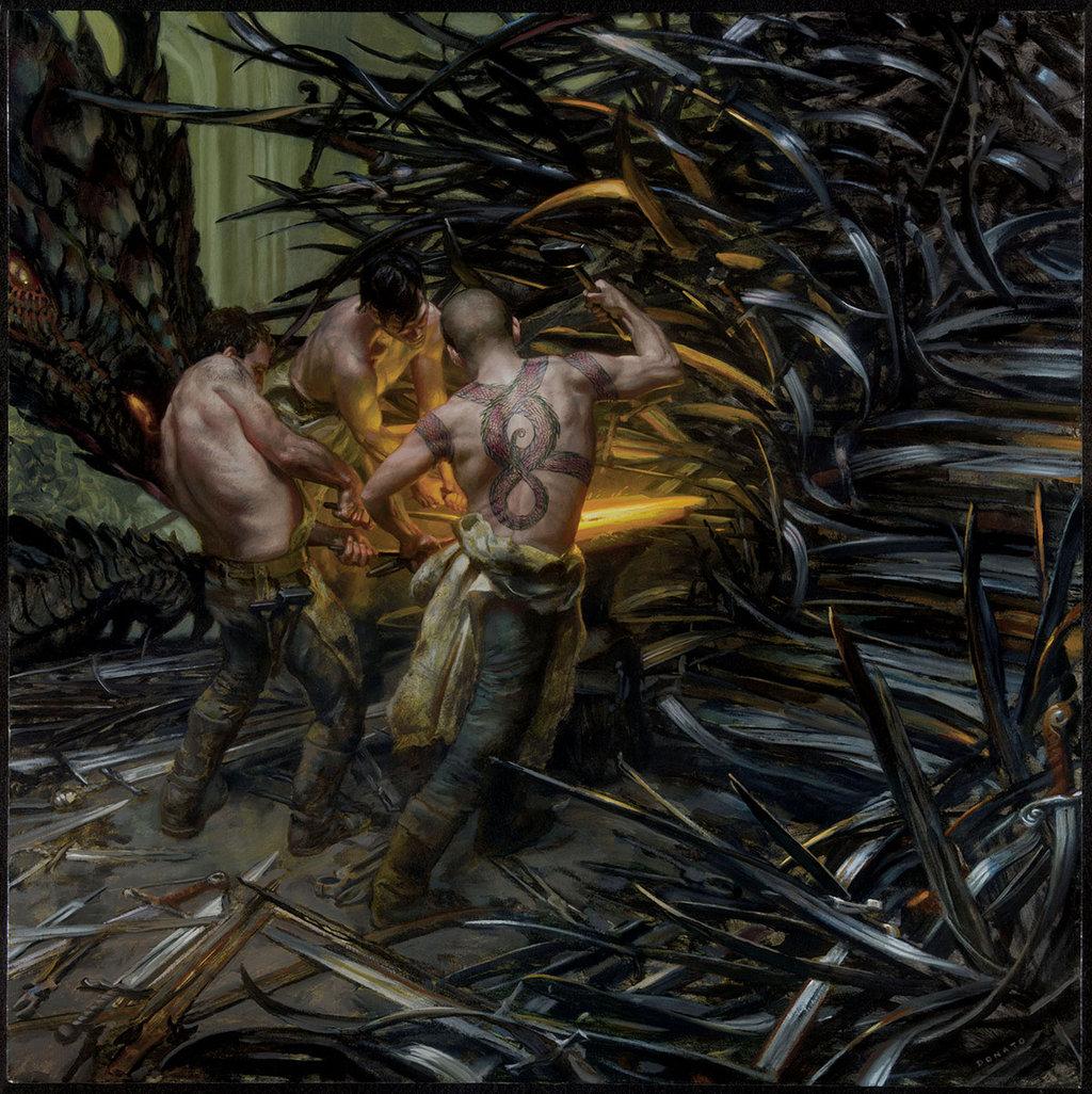 A Song Of Ice And fogo - 2015 Calendar - Forging the Iron trono